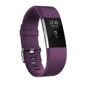 Fitness Tracker GPS Fitbit Charge 2 Wristband Argento