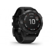 Garmin Reloj deportivo GARMIN Fenix 6 PRO (Bluetooth - Hasta 14 días de autonomía - Negro)
