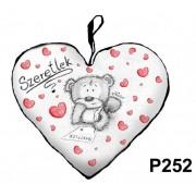 Díszpárna P252 szív nagy Szeretlek Nevlini - Díszpárna