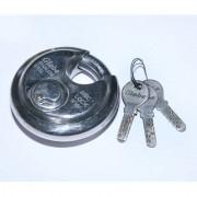 Amazing Ultra Technology Sunrise Globe Durable Stainless Steel Disc Locks - 3 Keys (90mm)