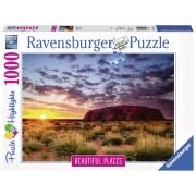 PUZZLE MUNTELE ULURU, 1000 PIESE - RAVENSBURGER (RVSPA15155)