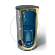 Бойлер с индиректно загряване с една серпентина Емайлиран стоманен водосъдържател Високоефективна изолация от мек пенополиуретан 100 mm Анодна защита Външен термоиндикатор Предпазен клапан Термопокет за термосензор Вход за рециркулация Достъп до водосъдър