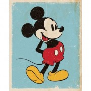 Disney Poster Mickey Mouse retro 40 x 50 cm - Action products