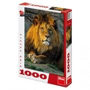 Dinotoys Dino Toys 532182 Pensive Lion Jigsaws Puzzle