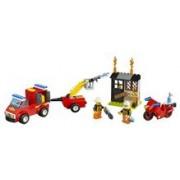 Lego® Juniors Valiza Patrula De Pompieri - L10740