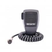 Microfon Statie Radio CB, conector 4 pini, Condensator, Storm