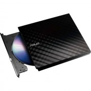 Asus External Slim DVD Re-Writer - Black