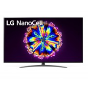"TV LED, LG 65"", 65NANO913NA, Smart, NanoCell, Alpha 7 III Processor, Cinema HDR, webOS ThinQ, Voice Control WiFi, UHD 4K"