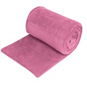 Patura fleece, 150 x 220 cm, roz