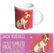 123 Kado koffiemokken Jack Russell thee mok 300 ml