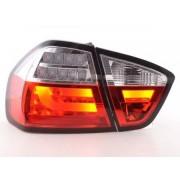 FK-Automotive fanali posteriori coppia di sedili LED BMW serie 3 E90 berlina anno di costruzione 05-08 rosso/chiaro