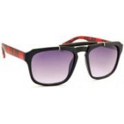 Stacle Rectangular Sunglasses(Grey)