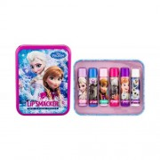 Lip Smacker Disney Frozen Lip Balm zestaw Balsam do ust 4 x 4 g + Opakowanie dla dzieci