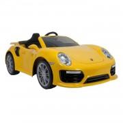 Injusa Porsche 911 Turbo S 6V accuvoertuig - geel