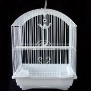 Max 100 Klec bílá pro ptáky na papoušky 290 x 220 x 370 mm