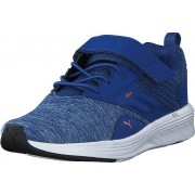 Puma Nrgy Comet Ps Galaxy Blue-white-jaffa Orange, Skor, Sneakers & Sportskor, Löparskor, Blå, Barn, 34