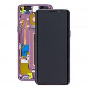 Estrutura para a Parte Frontal e Ecrã LCD GH97-21696B para Samsung Galaxy S9 - Púrpura