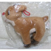 Rudolph And The Island Of Misfit Toys: 50th Anniversary Plush Bean Bag Ornament (1998)
