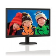 "Монитор 21.5"" (54.61 cm) Philips 223V5LSB FULL HD LED, 5ms 10 000 000:1 250cd/m2 DVI черен"