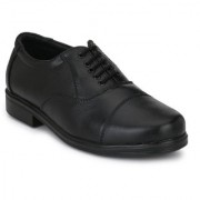 Shoe Day Black Leather Oxford Shoes