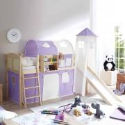 Kinder-Spielbett mit Rutsche Leiter