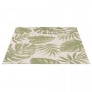 Tapijt Cottage - groen - 160x230 cm - Leen Bakker