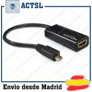 Adapter MHL male to High Speed HDMI female