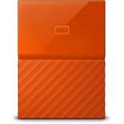 """Eksterni hard disk HDD External 2.5"""" 2TB WD Orange WDBS4B0020BOR-WESN, 8MB USB3.0 My Passport"""