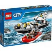 Set de constructie Lego Police Patrol Boat