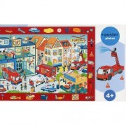 Puzzle Trefl Observation puzzle We visit a fire station, 70 piese