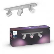 Philips Hue 50623/48/P7 Argenta spot aluminium 3x5.7W 2000-6500+RGB BlueTooth