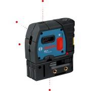 Точков лазерен нивелир BOSCH GPL 5 Professional, до 30м, 5 точки