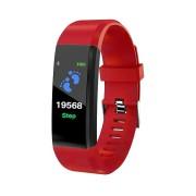 Smart Watch Bluetooth cardiofrequenzimetro LKM Security Rosso LKM-OSG115RD