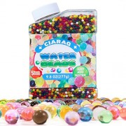 Water Beads CiaraQ Pack (50000 beads) Rainbow Mix Jelly Water Gel Beads Growing Balls for Orbeez Spa Refill, Kids Sensory Toys , Vases, Plant, Wedding and Home Decor