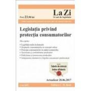 Legislatia privind protectia consumatorilor act. 28.06.2017