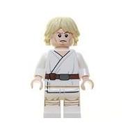 Luke Skywalker Lego Minifigure Loose From Star Wars 75052 Mos Eisley Cantina