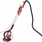 [pro.tec]® Lijadora jirafa de pared eléctrica - brazo telescópico y aspirador en seco - 750W / 230V
