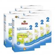 Holle 8 x Bio-Folgemilch 2 auf Ziegenmilchbasis nach dem 6. Monat (8x400g)