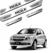 Soleira de Aço Inox Chevrolet Agile