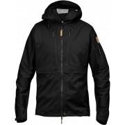 FjallRaven Keb Eco-Shell Jacket - Black - Vestes de Pluie L