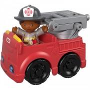 Fisher Price Macchinina Fisher Price Little People Camion dei Pompieri