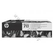 Комплект печатаща глава HP 711, p/n C1Q10A - Оригинален HP консуматив - комплект 4 мастилa и глава