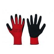 Rękawice robocze, powlekane lateksem RWnyl B+ R rozmiar 7