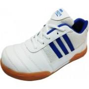 Port Smaish Badminton Shoes For Men(White)