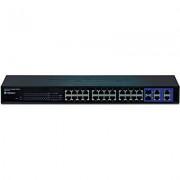 Switch TEG-424WS, 24-port 10/100, 4 x Gigabit