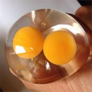 Splat Double Yolk Egg Vent Stress Reliever Toy Smash Water Ball Family Fun Squishy Toys