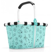 reisenthel Einkaufskorb carrybag XS cats and dogs mint
