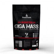 Monster Giga Mass - 3000g - PowerFoods - Unissex