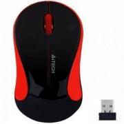 Оптична мишка A4tech G3-270N-4 V-Track, USB, Черен/Червен, A4-MOUSE-G3-270N-4
