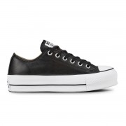 Converse Chuck Taylor ALL STAR LIFT OX CLEAN LEATHER DONNA